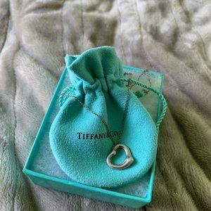 Tiffany's Elsa Peretti Open Heart (16 mm) Pendant